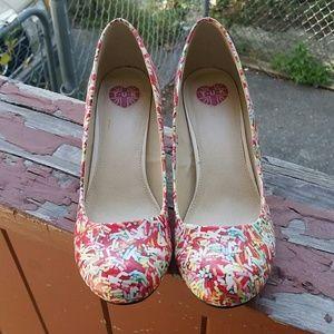 TUK Sprinkle Heels